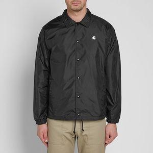 Carhartt   WIP Black Coach Jacket